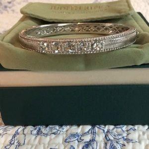 Judith Ripka SS Aquamarine bracelet